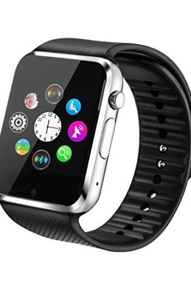 Fantime-Smart-Watch-with-SIM-Card-Memory-Card-Camera-Bluetooth-Wrist-Watch-for-Android-iPhone-Black-0